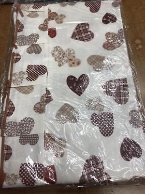 coordinato da cucina cuscini per sedia + copritavola in plastica dis cuori   eBay