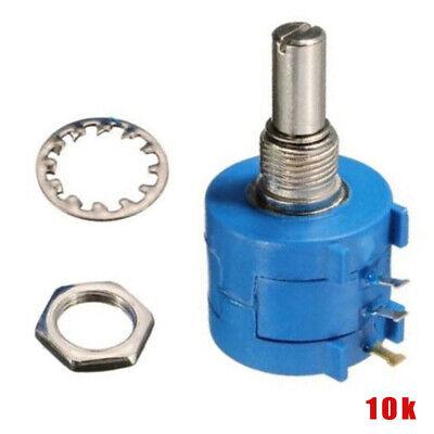 15mm Shaft Linear Potentiometers 1K 2K 5K 10K 20K 50K 100K 500K 1M Nut/&Cap 9