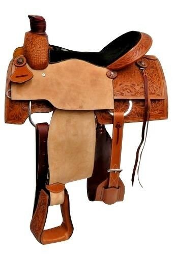15 ,  16 , 17  Circle S Roper style saddle  preferential