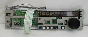 Sony DVCAM DSR-1600 Digital Player Front Control Panel KY-484 1-679-121-13 (wrs)