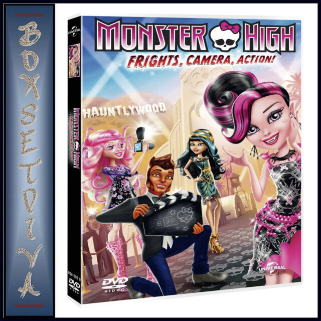 MONSTER HIGH - FRIGHTS, CAMERA, ACTION ***BRAND NEW DVD ****