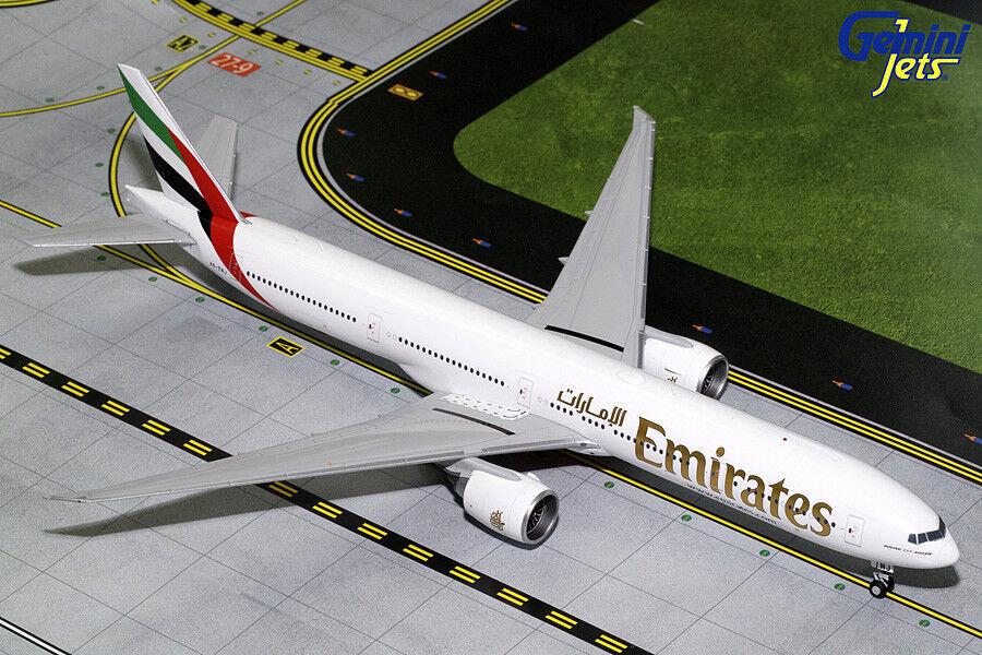 Nuevo Emiratos Boeing 777-300ER A6-ENJ Geminijets 1 200 Diecast modelos G2UAE727