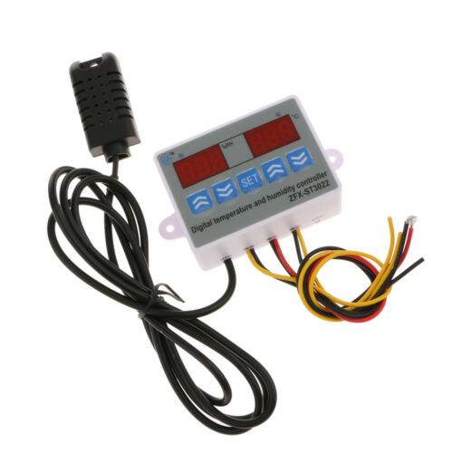 Digital Temperature Humidity Controller Thermostat Microcomputer 12//24//220V