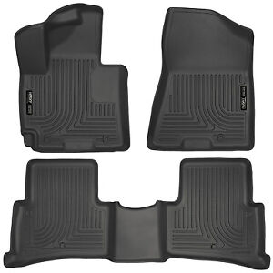 HUSKY-WEATHERBEATER-FRONT-amp-REAR-BACK-FLOOR-MAT-LINERS-for-Hyundai-Tucson-16-19