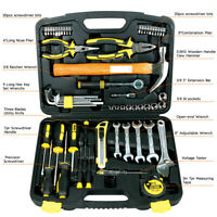 61-Piece DoWell Homeowner General Portable Repair Hand Tools Kit