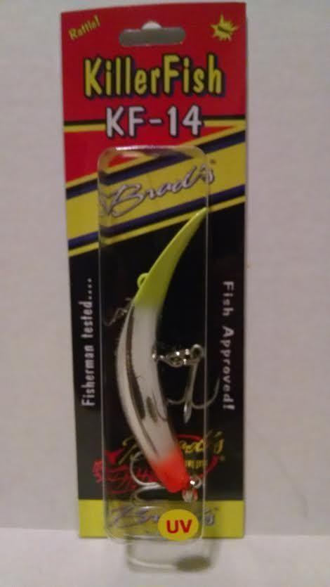 Brad's Killerfish KF14-Double Take UV Rattle 6pk
