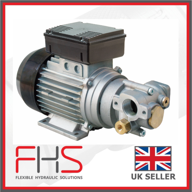 482125 220V Portable Diesel Self-Priming Transfer Pump Brushless Induction Motor