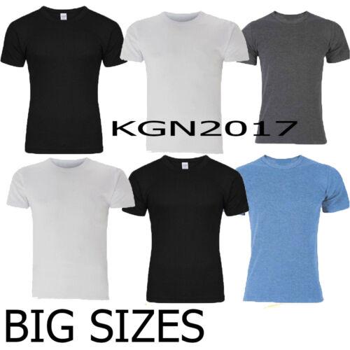 BIG Taglie 3 X MEN Termico Gilet T-shirt spazzolato all/'interno per una maggiore calore S-3XL