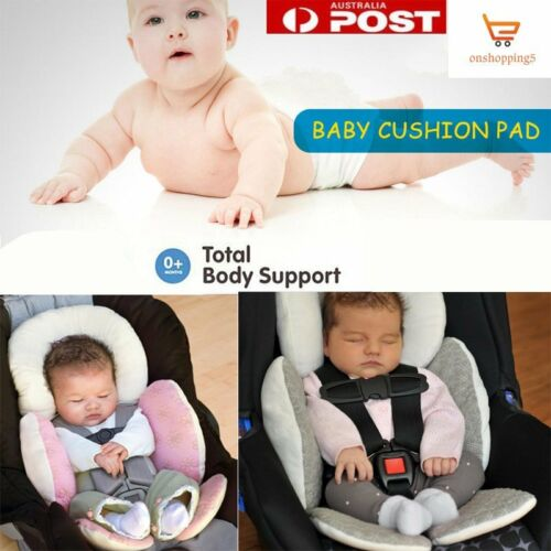 Newborn Baby Car Seat Stroller Cushion Pad Liner Mat Head Body Support ow ZP