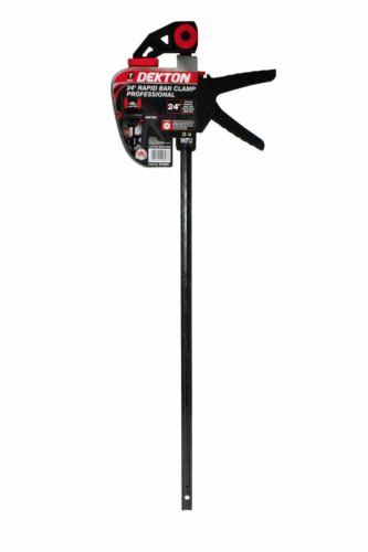 "Dekton 24/"" 600mm Rapid Vice Bar 45kg Clamp Force Quick Grip Ratchet Holder"