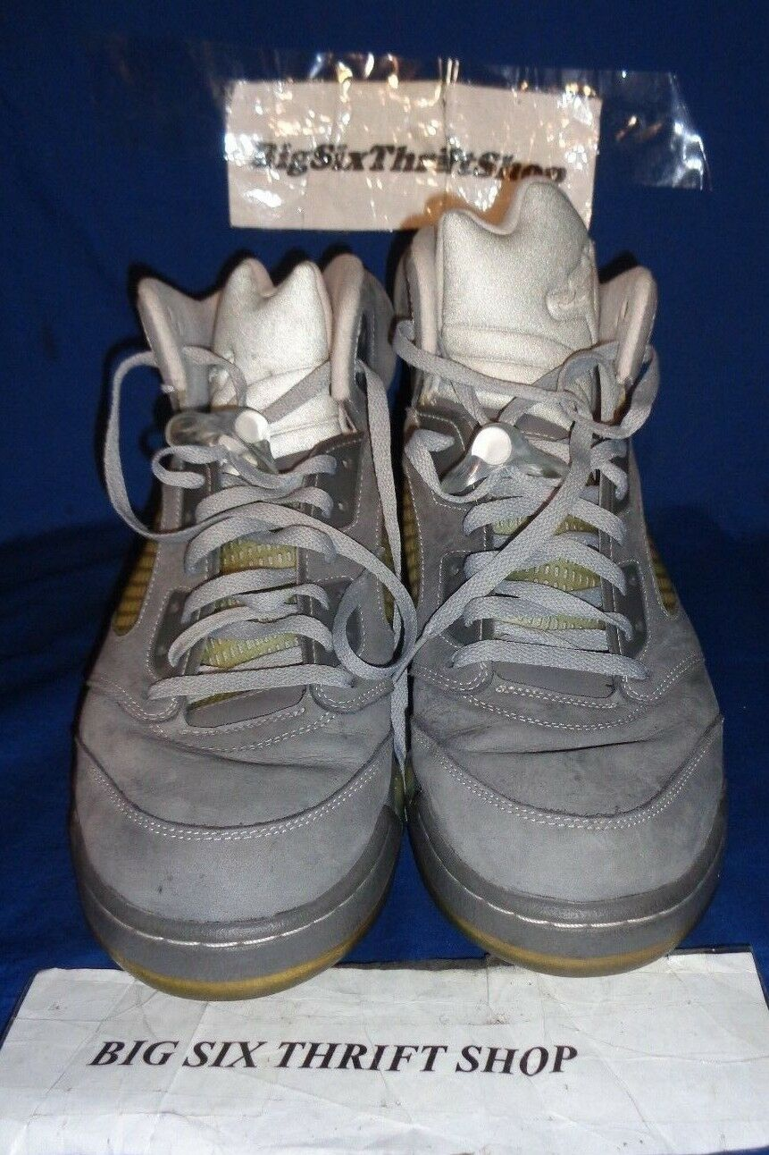 Nike air jordan 5 v 5 jordan retro - 136027-005 graphit wolf n   12,5 8c1c90