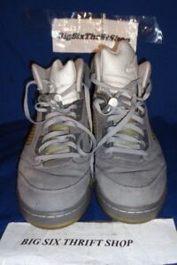 huge selection of c530b 832b2 Details about NIKE AIR JORDAN V 5 RETRO 136027-005 GRAPHITE WOLF GREY MEN  SIZE 12.5