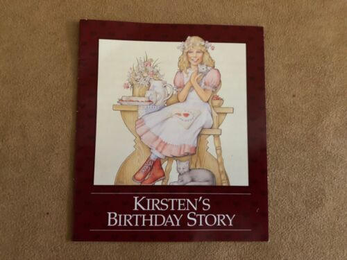 Kirsten/'s birthday Story pamphlet booklet Pleasant Company American Girl doll
