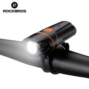 ROCKBROS-Rechargeable-Headlight-Flashlight-Waterproof-Bike-Bicycle-Front-Light