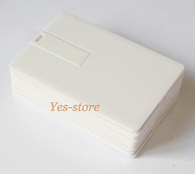 Lot Hot Sell 20PCS USB Flash Drive 256MB Pendrive DIY Blank Credit Card Shape