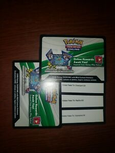 3x-Code-Card-CHARIZARD-GYARADOS-RAICHU-Hidden-Fates-Pokemon-GX-Tins-SM211
