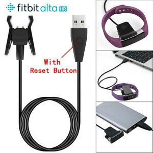 Details about UK USB Charging Cable Charger Lead for FitBit Alta HR Tracker  With Reset Button