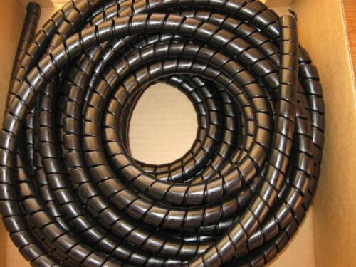 Tuyau Hydraulique Spirale Drapé Protection 18-24mm Jcb Forestier Tracteur Digger