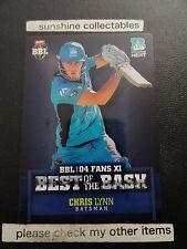 2015/16 TAP N PLAY CRICKET 04 BEST OF BASH CARD BB-04 CHRIS LYNN BBL