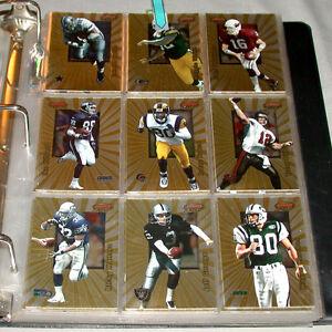 1998-Bowmans-Best-Full-125-125-Football-Cards-Set-Kordell-Stewart-Signed-Card