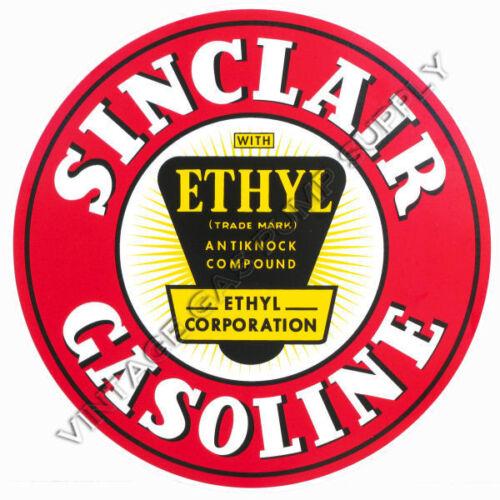 """Sinclair Ethyl 12/"""" Vinyl Decal DC187"""