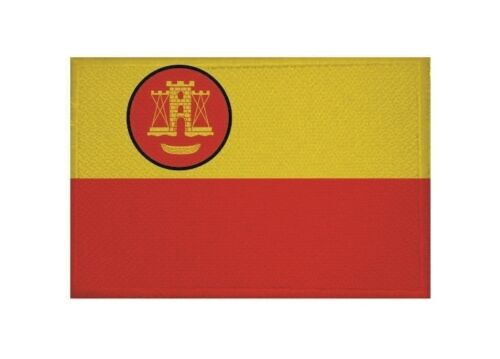 Aufnäher Memelland Fahne Flagge Aufbügler Patch 9 x 6 cm