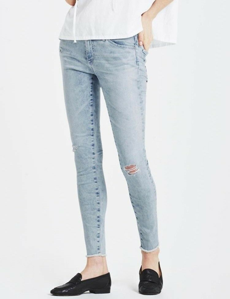 AG Adriano goldschmied LEGGING ANKLE SUPER SKINNY Jeans IN CHARMING 30 New