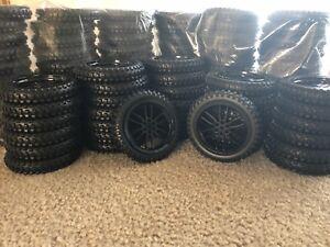 Lego Bmw Motorcycle 2 Tires With Rim 1200 88517c02 42063 Ebay