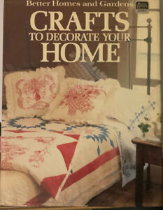 Bhg Crafts To Decorate Your Home Hard Cover 14005638847 Ebay