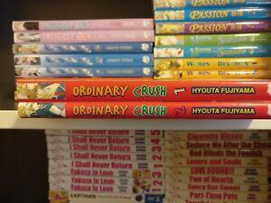 Lot X2 Ordinary Crush Volumes 1 2 June Manga In English Books Bl Ebay