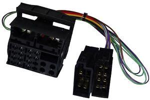 Adaptateur-faisceau-cable-fiche-ISO-autoradio-pour-VW-RS200-RCD100-RCD200-RCD300