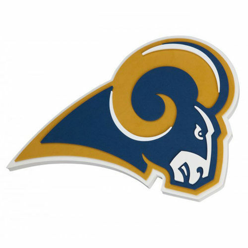 Los Angeles Rams 3d Foam WALL SIGN