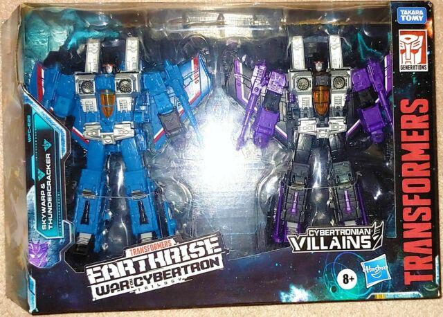 Transformers G1 Earthrise War for Cybertron WFC Thundercracker & Skywarp MISB