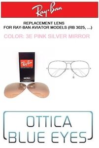 159997bd2b5 LENTI di Ricambio RAYBAN AVIATOR RB 3025 Ray Ban Replacement Lenses ...