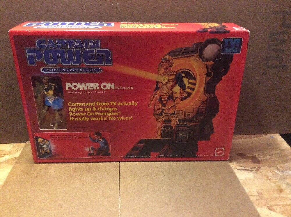 tienda en linea Potencia de energía Mattel capitán en Energizer Set Set Set Vintage Nuevo en caja gran forma  mejor opcion
