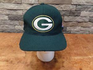 8c2bd2e42 Vintage Green Bay Packers Hat Wool Blend Starter NFL Pro Line Old ...