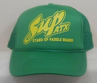 Stand Up Paddle Board Adult Mesh Hat Adjustable Trucker Hat Black