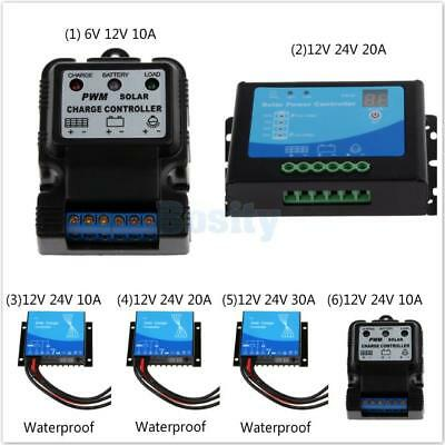 Auto Switch Solar Panel Battery Regulator Charge Controller 6V/12V 12V/24V