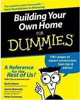 Building Your Own Home For Dummies By Kevin Daum, (paperback), For Dummies , on sale