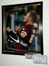 ** Rare Francesco Totti Of Roma Signed FOOTBALL BOOT Autograph Display **