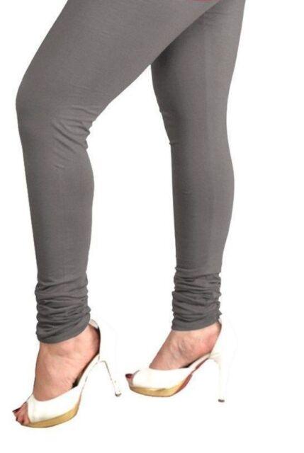 New Indian Churidar Leggings Women Cotton Stretchable Lycra Yoga Ethnic Legging