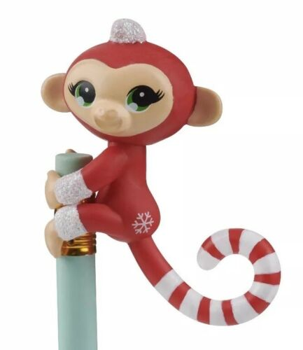 Fingerlings Christmas Holiday Collection Holly Jolly Merry 3pc Fingerling Monkey