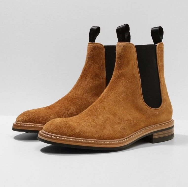 NIB Rag & Bone Spencer Chelsea Boots with Dainite Sole (Made in )   750