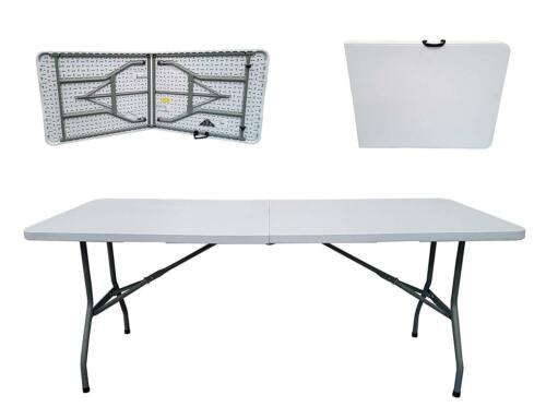 tables pliantes UK Top Pli En Demi-tableau 400 kg de charge pour jardin et extérieur 6 FT environ 1.83 m