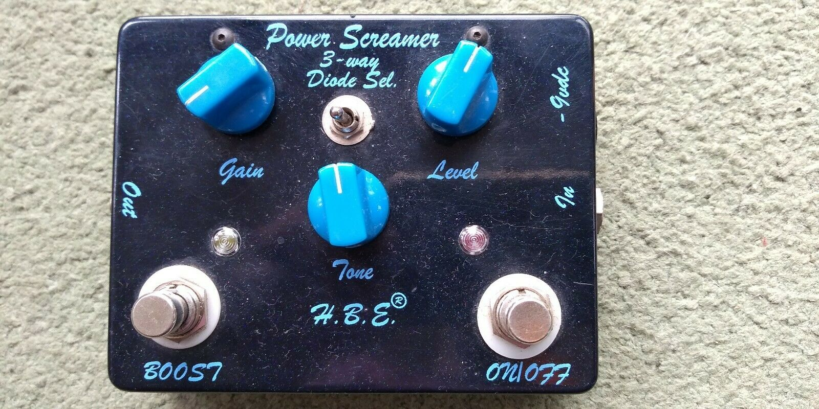 Homebrew Electronics Power Screamer Tubescreamer with boost handmade USA