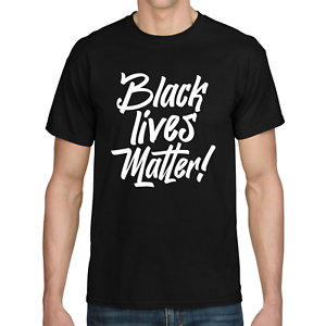 BLACK-LIVES-MATTER-Anti-Rassismus-I-cant-breathe-George-Floyd-Sprueche-T-Shirt