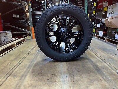 Fuel Wheels 20x9 >> 20x9 D560 Fuel Vapor 20 Wheels 33 Fuel At Tires Package 5x5 Jeep Wrangler Tj Ebay