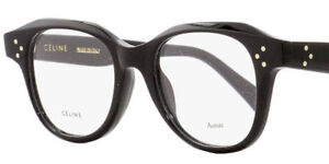 b32728a272a5f Image is loading BRAND-NEW-Celine-CL41457-807-Black-Optical-Frames-