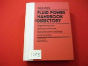 FLUID-POWER-HANDBOOK-amp-DIRECTORY-EXCELLENT-COLLECTIBLE-REFERENCE-BOOK