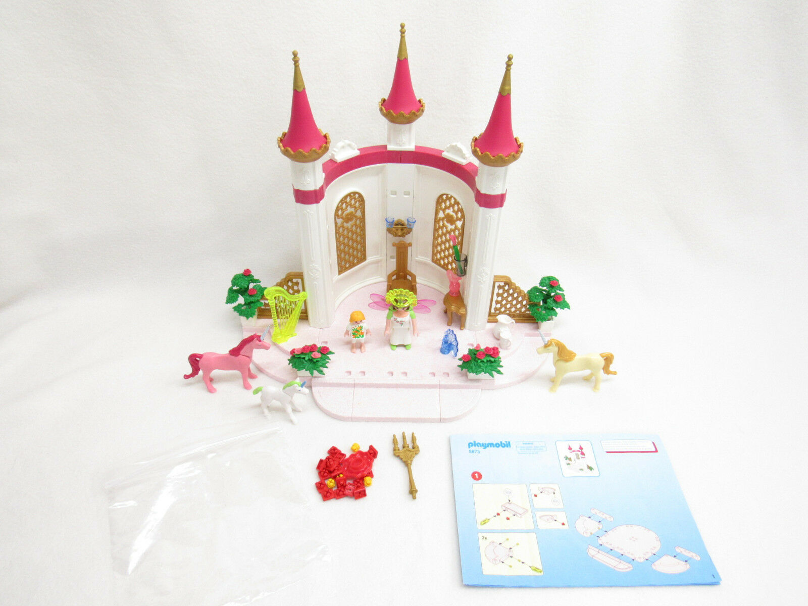 GOEBRA PLAYMOBIL PRINCESS CASTLE SET--NOT SET--NOT SET--NOT COMPLETE 337974